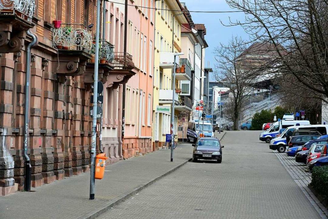 Die Wannerstraße in der Nähe des Freib...te her angefahren werden (Archivfoto).  | Foto: Ingo Schneider