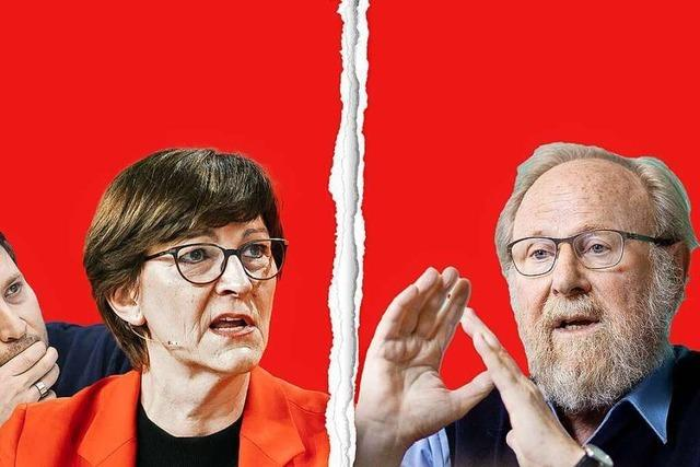 Wie tief ist der Riss in der SPD?