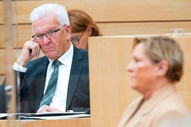 TV-Duell zur Landtagswahl: Eisenmann kämpft, Kretschmann führt