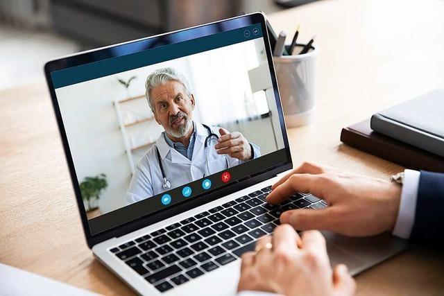 Virtuelle Arztbesuche im Aufschwung