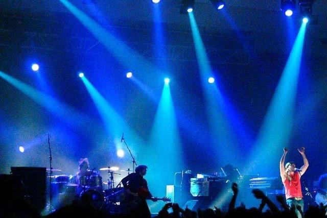 Legendäre Konzerte in der Freiburger Stadthalle