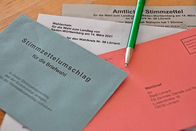 Was Wählerinnen und Wähler am Sonntag in Lörrach beachten müssen