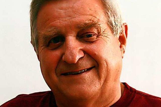 Herbert Lavan aus Kippenheim war der Mann für die Sportabzeichen