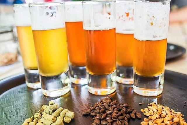 Badisch schmeckt's: Unser Bier