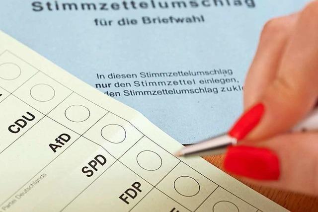 Im Kreis Lörrach gibt es rund 162.000 Wahlberechtigte