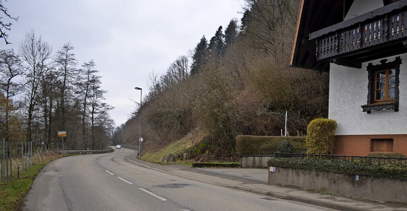 Bei der Diskussion im Gemeinderat wurd...hbordige Fußweg  soll ersetzt werden.   | Foto: Nikolaus Bayer
