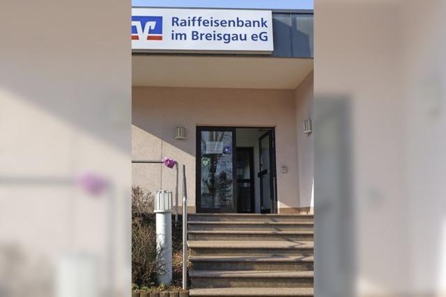 Raiffeisenbank baut in Holzhausen neu