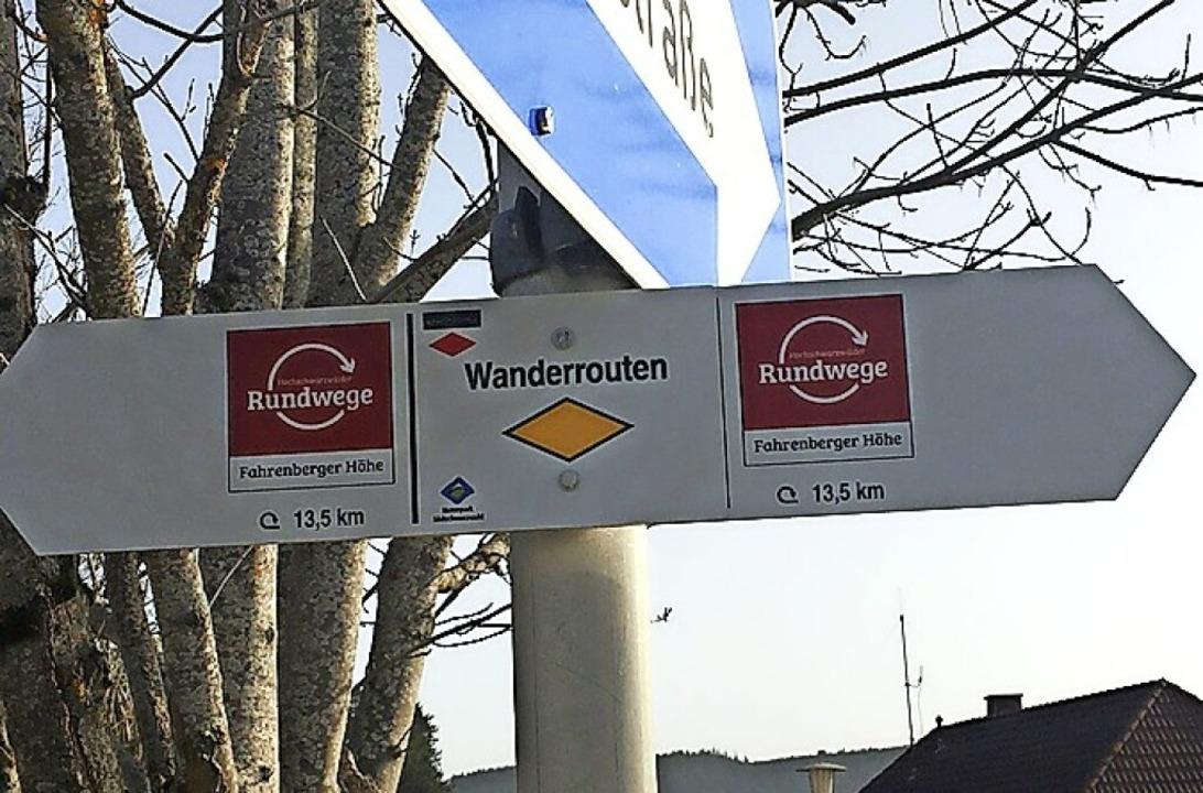 Der Schwarzwaldverein hat den Fahrenberger Höhenrundweg neu ausgeschildert.   | Foto: Schwarzwaldverein