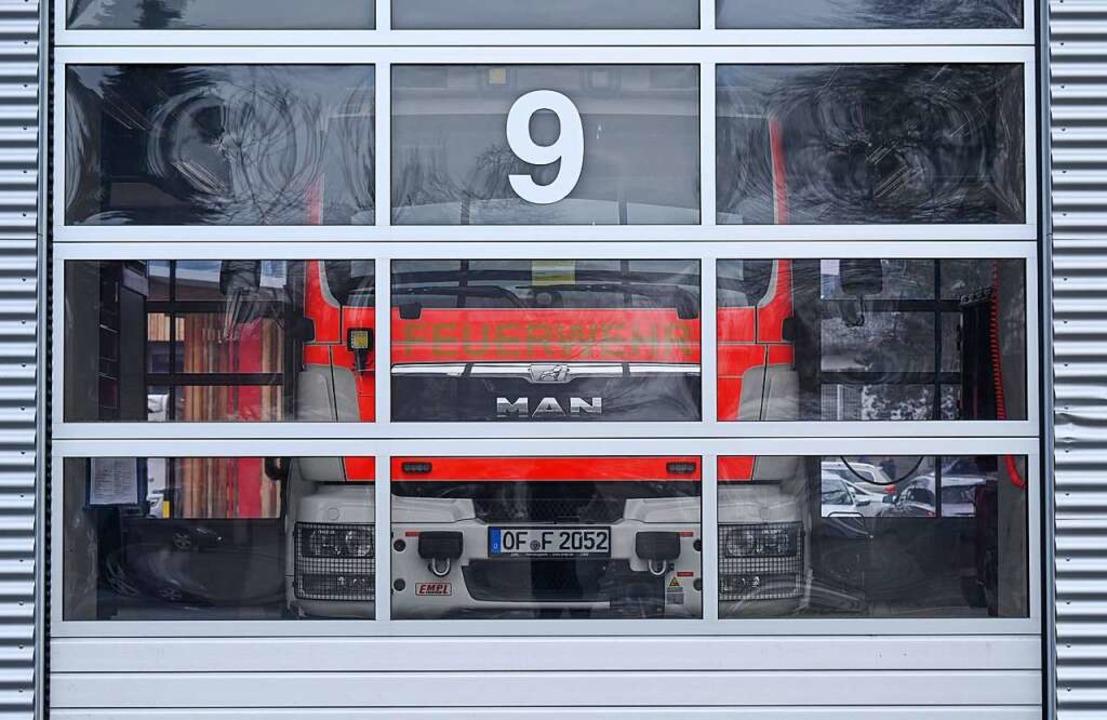 Muss bereit sein – die Feuerwehr  | Foto: Arne Dedert (dpa)