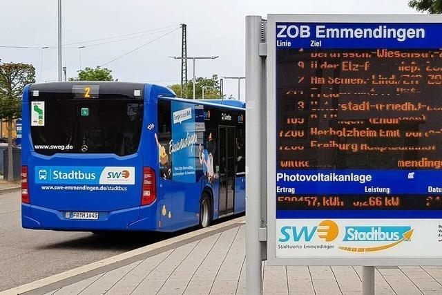 So können Emmendinger am Busfahrplan mitwirken