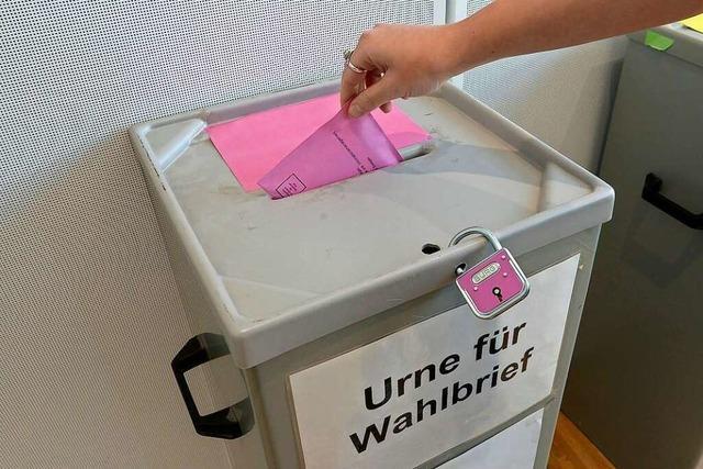 Die Stadt Freiburg honoriert ihre Wahlhelfer recht großzügig