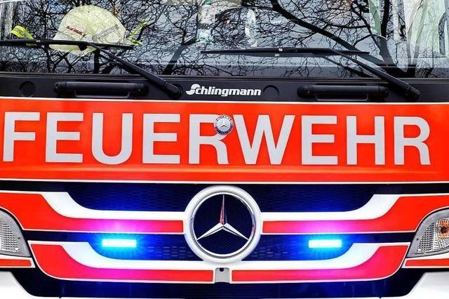 Gabelstapler beschädigt Kanister mit ätzender Flüssigkeit in Herbolzheim