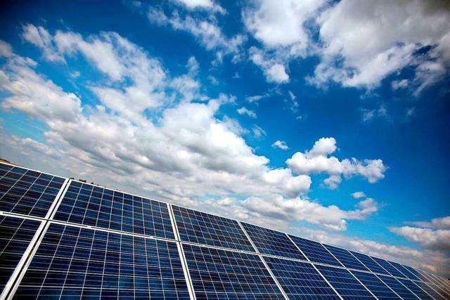 Wie weit ist der Ausbau der Solarenergie im Landkreis Lörrach?