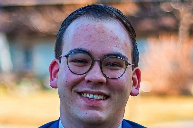Mathias Geng ist neuer Bürgermeisterreferent in Bad Krozingen
