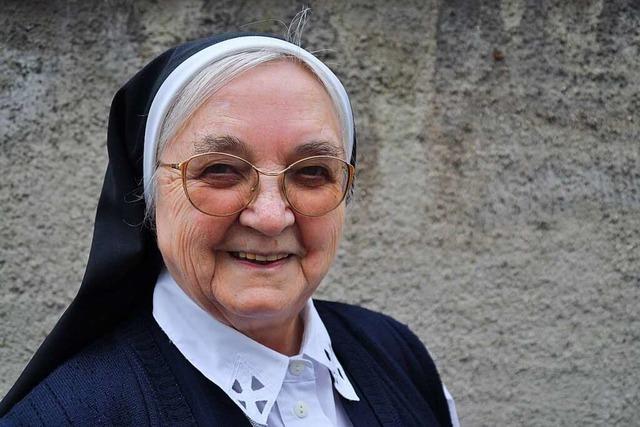 Schwester Alberta feiert 100. Geburtstag
