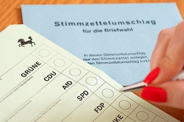 Dürfen Parteien gezielt Erstwähler anschreiben?
