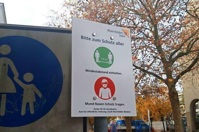 Wo in Rheinfelden die Maskenpflicht gilt