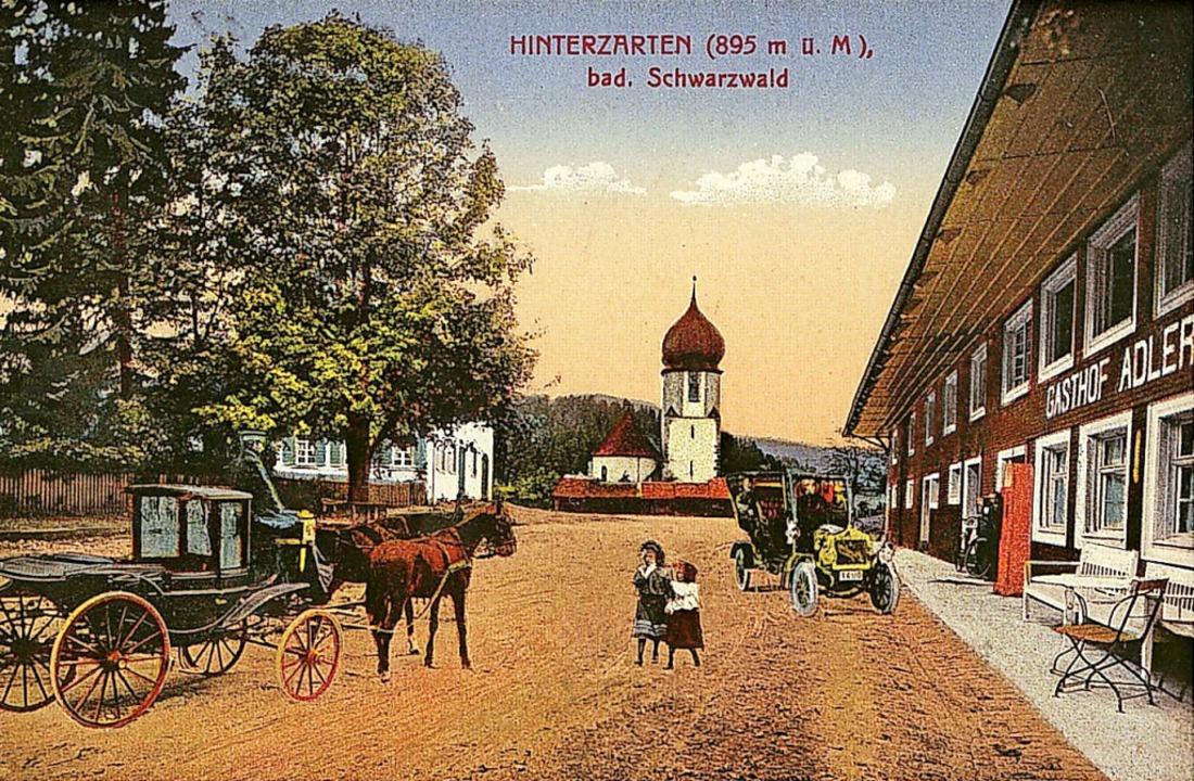 Die Anfänge des Adlerwirtshauses, früh...ne Herberge für Pilger und Wallfahrer.    Foto: Archiv Roland Weis