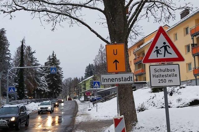Bundesstraßenverkehr durchs Wohngebiet