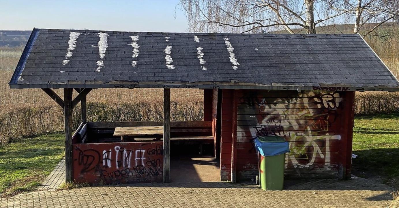 Die Duttentalhütte in Ihringen soll im nächsten Monat  renoviert werden.    Foto: privat