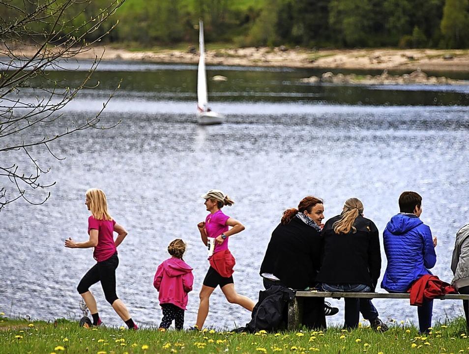 Muttertagsvergnügen: Die einen laufen,...er zum zweiten Mal in Folge abgesagt.     Foto: Patrick Seeger