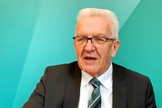 Ministerpräsident Kretschmann: Klimaschutz an erster Stelle