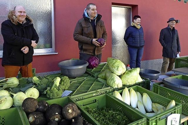 Oberprechtal hat wieder einen Marktstand im Dorf