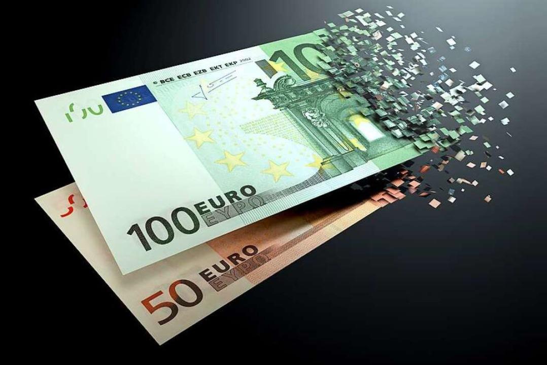 Manchmal lösen sich Geldanlagen in Luft auf.    Foto: flydragon  (stock.adobe.com)