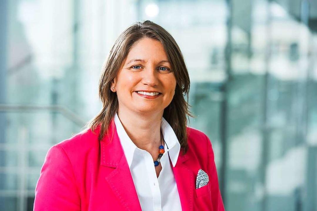 Anette Stetter ist Ausbildungsbegleiterin bei der Industrie- und Handelskammer.  | Foto: Klaus Polkowski