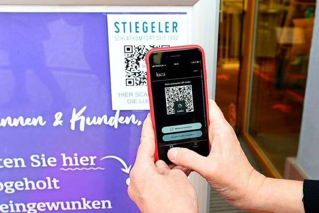 Testlauf mit Luca-App startet in Freiburg und im Kreis Breisgau-Hochschwarzwald