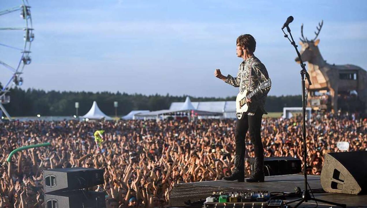 Die Sehnsucht nach Momenten wie diesem...mer 2021 wird es kaum Festivals geben.  | Foto: Felix Kästle