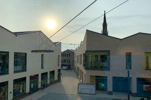 Offenburgs neues Einkaufsquartier geht an den Start