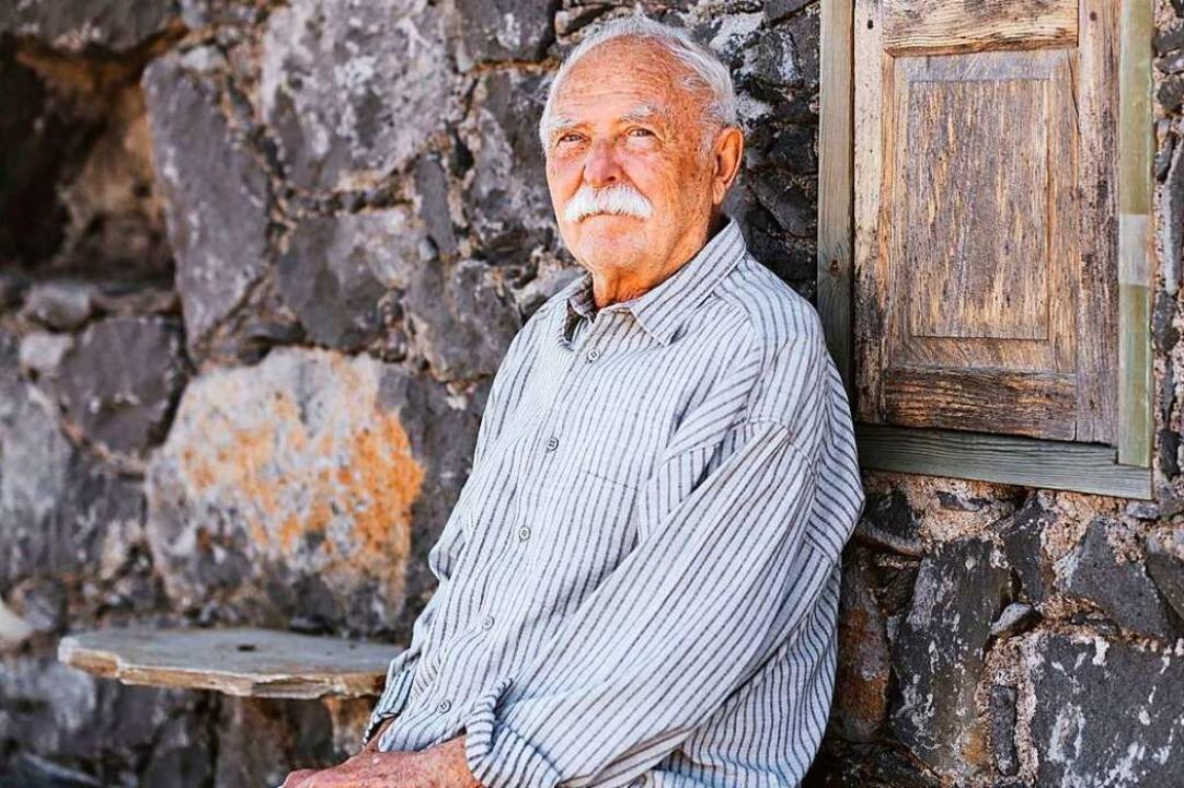 Janosch, der eigentlich Horst Eckert h...r legendären Hängematte locken können.  | Foto: - (dpa)