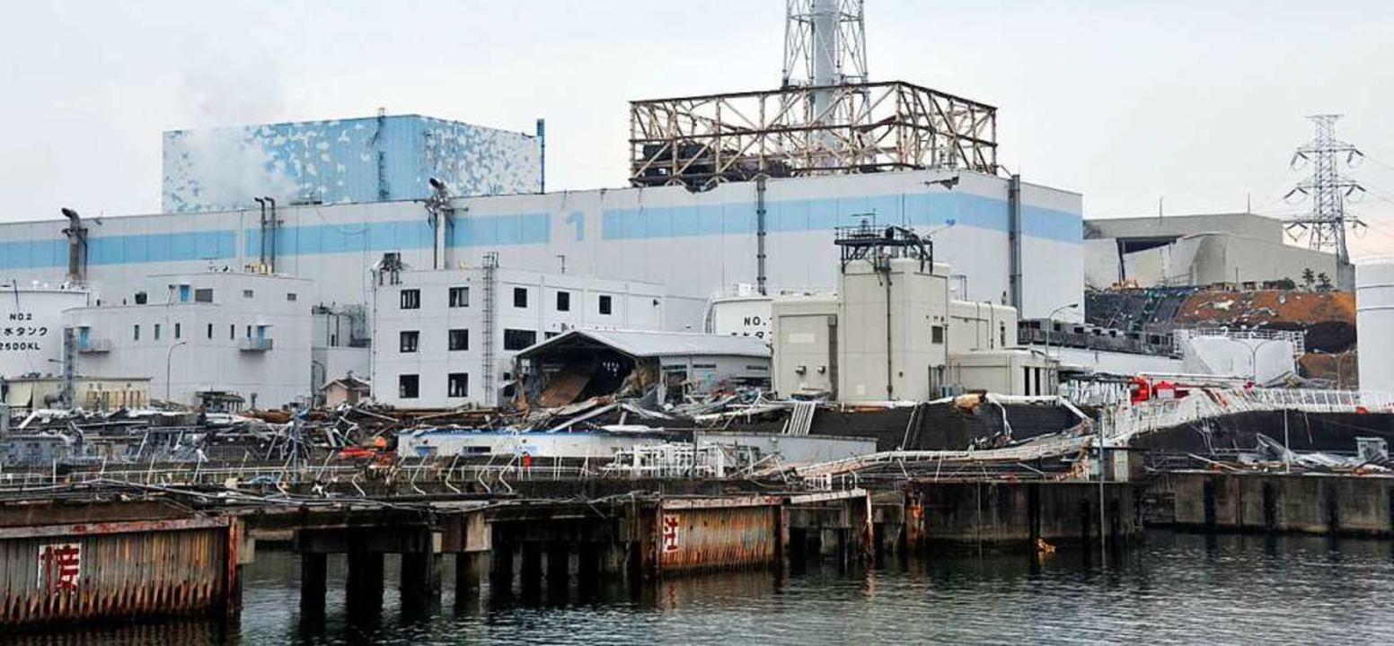 """""""Ich konnte gar nicht so richtig...ben, Tsunami und Atomkraftwerk.""""    Foto: JMSDF"""