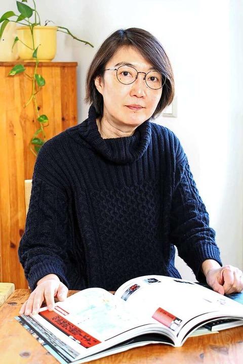 Izumi Shibata-Wagner war zum Zeitpunkt...age später erreichte sie ihre Familie.    Foto: Ruth Seitz