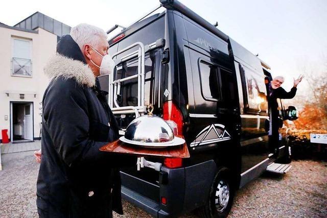 Essen auf Rädern mal anders: Wohnmobil-Dinner hat viele Fans