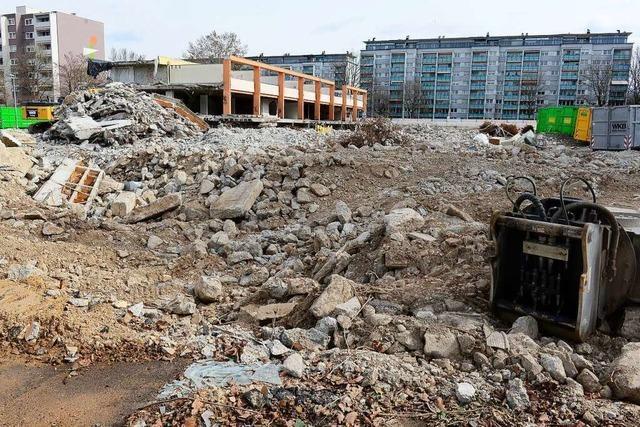 Amt stoppt Abriss des Einkaufszentrums in Freiburg-Landwasser