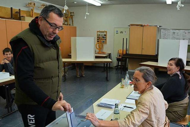 So wurde 2016 in Rheinfelden, Grenzach-Wyhlen und Schwörstadt gewählt