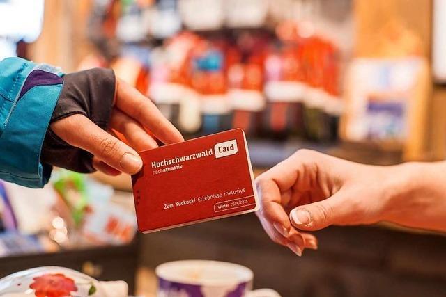 Die Hochschwarzwald Card wird es ab 2022 nur noch digital geben