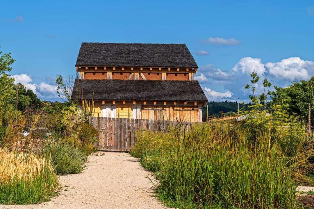 Das Streifenhaus im Bürgerpark in Lahr soll bald wieder öffnen.  | Foto: Stadt Lahr