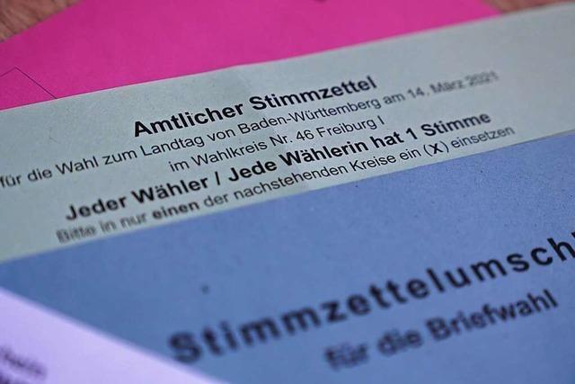 Auch im Hochschwarzwald gibt es viele Briefwähler