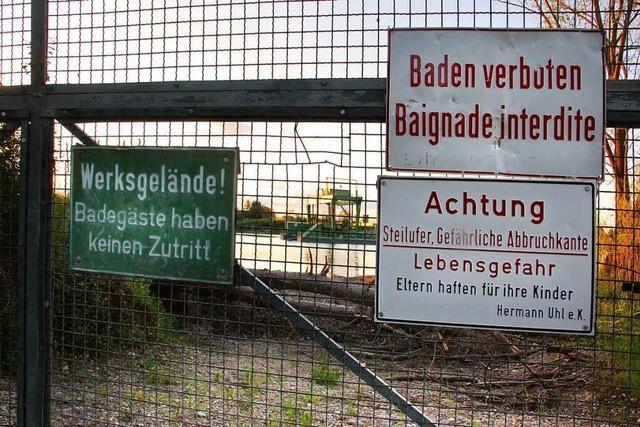 Eine Lösung beim Wyhler Baggersee findet sich nur gemeinsam