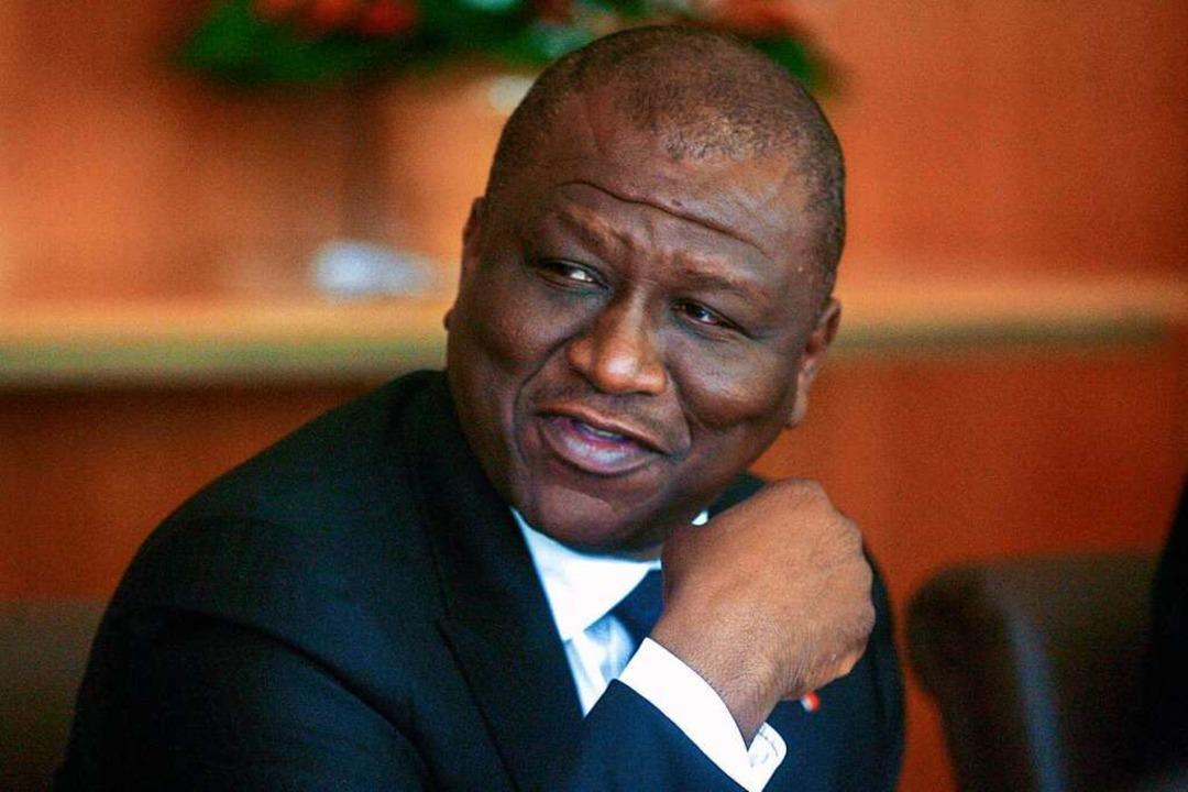 Der ivorische Ministerpräsident Hamed ...olgen einer Krebserkrankung gestorben.    Foto: Diomande Ble Blonde (dpa)