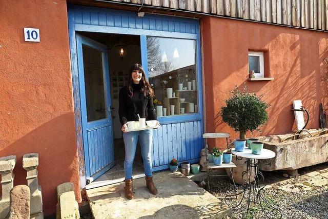 Tag der offenen Töpferei ist am Wochenende auch im Atelier von Lena Andres in Müllheim