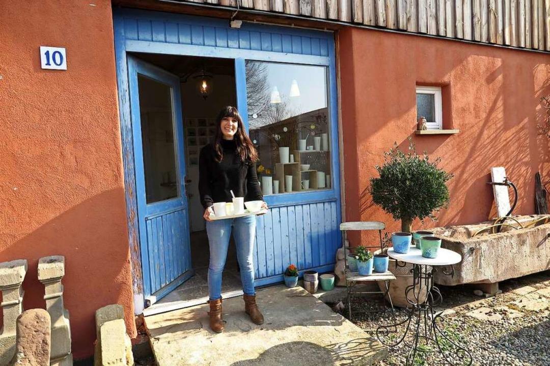 Seit einem Jahr hat Lena Andres ihr Ke...Am Wochenende ist Tag der offenen Tür.  | Foto: Dorothee Philipp