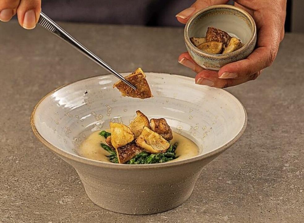 Regionale Küche – japanisch insp...s ist weiterhin das Motto von Goldberg    Foto: Enrico Markx
