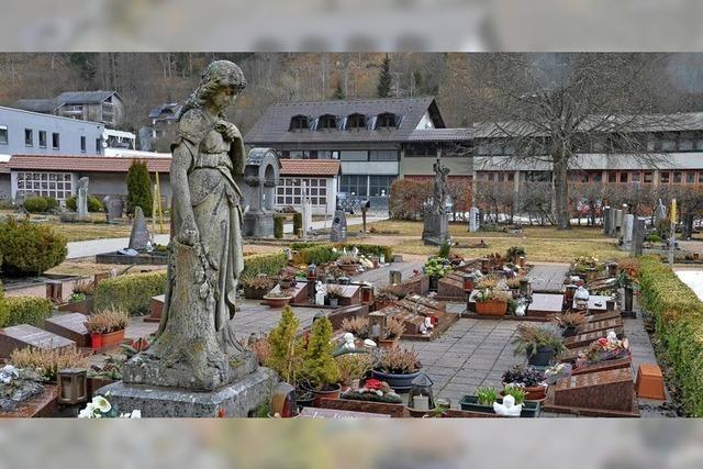 Die Bestattungsgebühren bleiben unverändert
