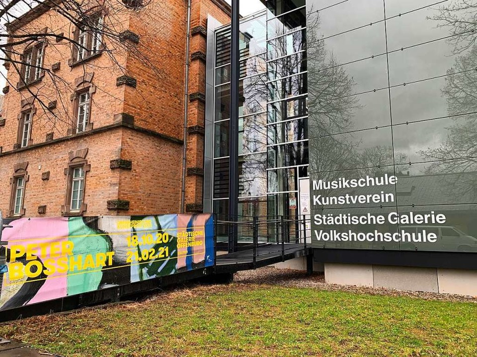 Die Städtische Galerie zeigt Peter Bosshart.  | Foto: Helmut Seller