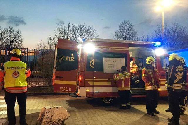 Drei Einsätze hielten Feuerwehr Herbolzheim auf Trab