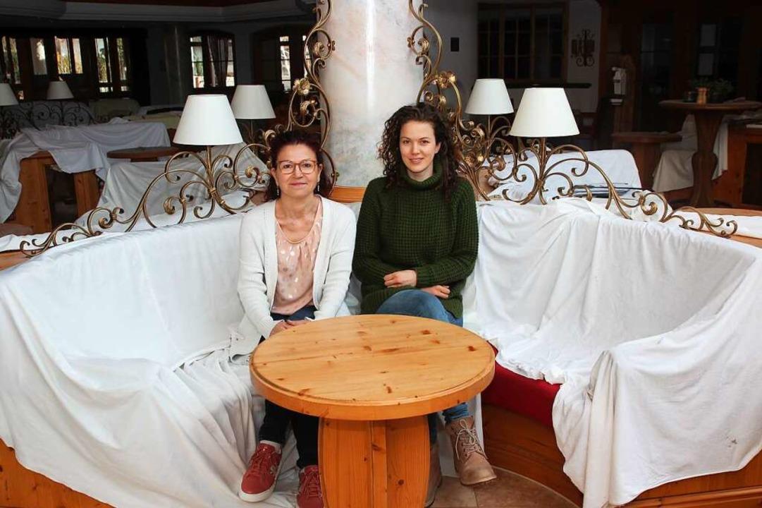 """Ulrike und Julia Tischer: """"Es gi...ich so richtig vertreten fühle.""""    Foto: Michael Saurer"""